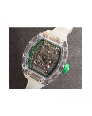Replica Richard Mille RM056-02 Shappire Green & Skeleton Dial M9015