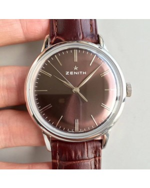 Replica Zenith Elite 6150 150TH Anniversary 03.2272.6150/51.C700 ND Stainless Steel Chocolate Dial Swiss Elite 6150