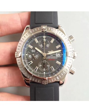 Replica Breitling Avenger Chronograph JF Stainless Steel Grey Dial Swiss 7750