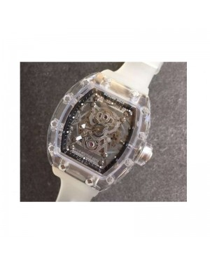 Replica Richard Mille RM056-02 Shappire Black & Skeleton Dial M9015