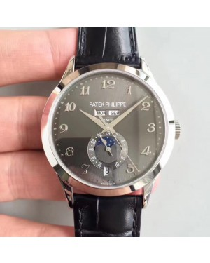 Replica Patek Philippe Annual Calendar 5396G KM Stainless Steel Anthracite Dial Swiss 324S