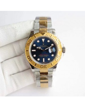 Replica Rolex Yacht-Master 40 116622 JF Stainless Steel & Yellow Gold Blue Dial Swiss 3135
