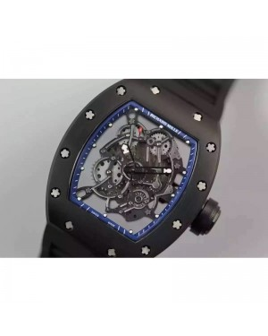Replica Richard Mille RM035 PVD Blue Dial M9015