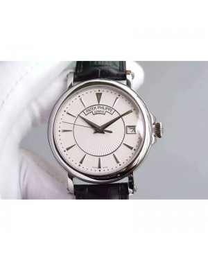 Replica Patek Philippe Calatrava 5153 Stainless Steel White Dial Swiss 324SC