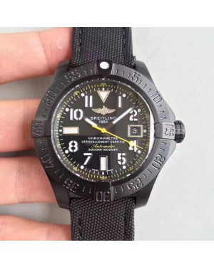 Replica Avenger Seawolf Blacksteel Code Yellow M17330B2 GF PVD Black Dial Swiss 2824-2