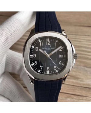 Replica Patek Philippe Aquanaut 5168G-001 PP Stainless Steel Blue Dial Swiss 324SC