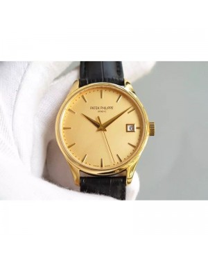 Replica Patek Philippe Calatrava 5227 Yellow Gold Gold Dial Swiss 324SC