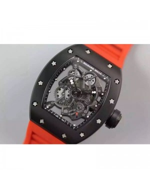 Replica Richard Mille RM035 PVD Orange Dial M9015