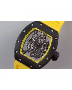 Replica Richard Mille RM035 PVD Yellow Dial M9015