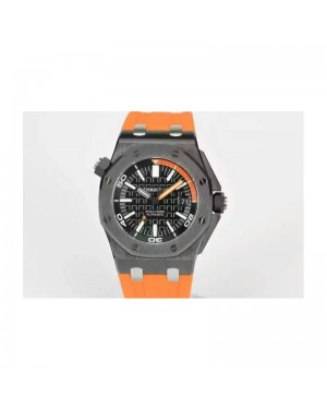 Replica Audemars Piguet Royal Oak Offshore Diver 15707 Ceramic Black Dial Swiss 3120